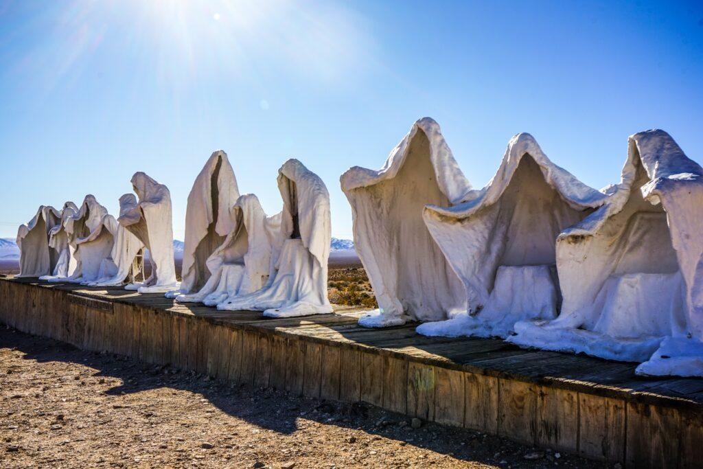 Rhyolite, NV | Rhyolite ghost town, Ghost towns, Open air